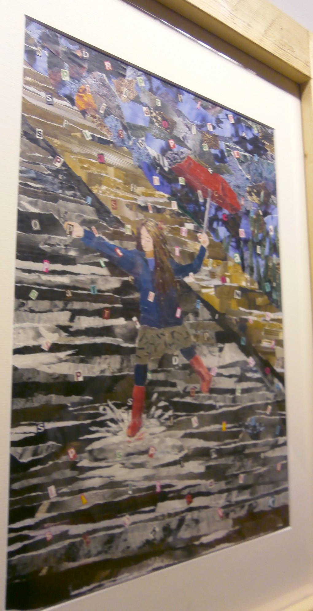 Collage at Airt Arts Summer Exhibition Launch