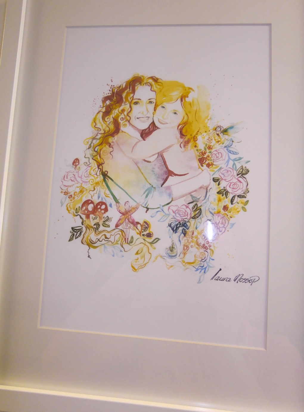 Illustration in Air Art's Summer Exhibition
