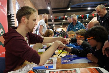 Hands on soldering lessons for younger makers