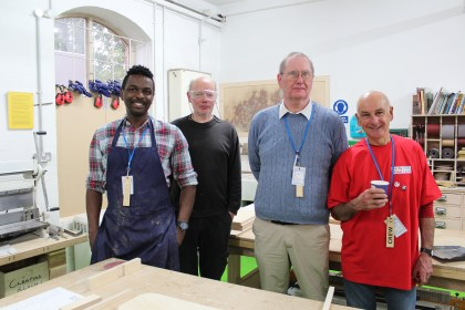 Derby Makers in the Silk Mill Wordshop