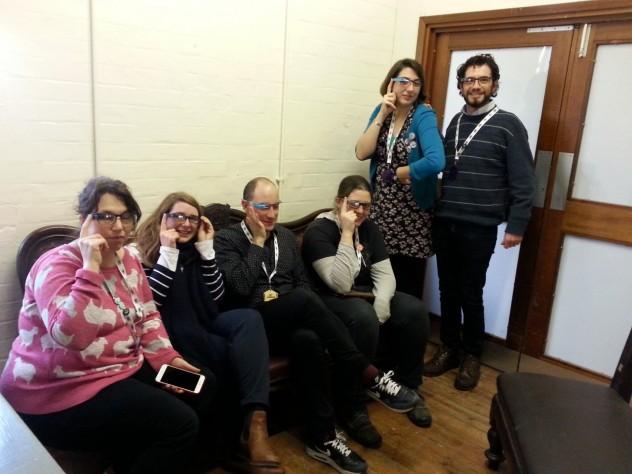 Museomix 2014 google glasses