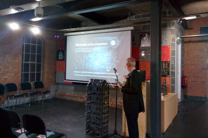 Lunar21 live event November 2015, introduced by Graham Bennett
