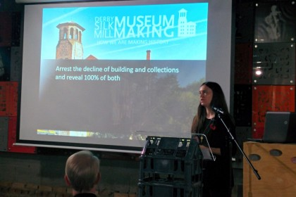 Andrea Mercer presents the development of the Silk Mill Derby
