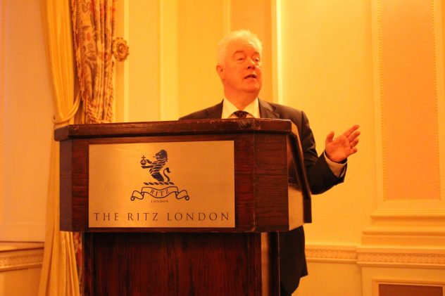Private investor opportunity attended by Marketing Derby a the Ritz, London